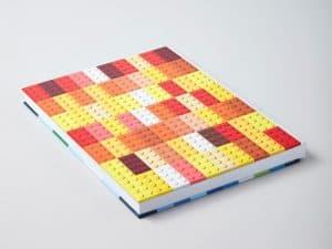 lego 5006205 notisbok med klossedesign