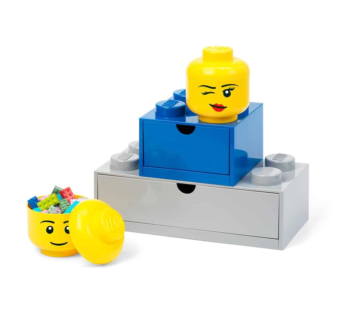 lego 5006211 oppbevaringshode liten storrelse blunkende