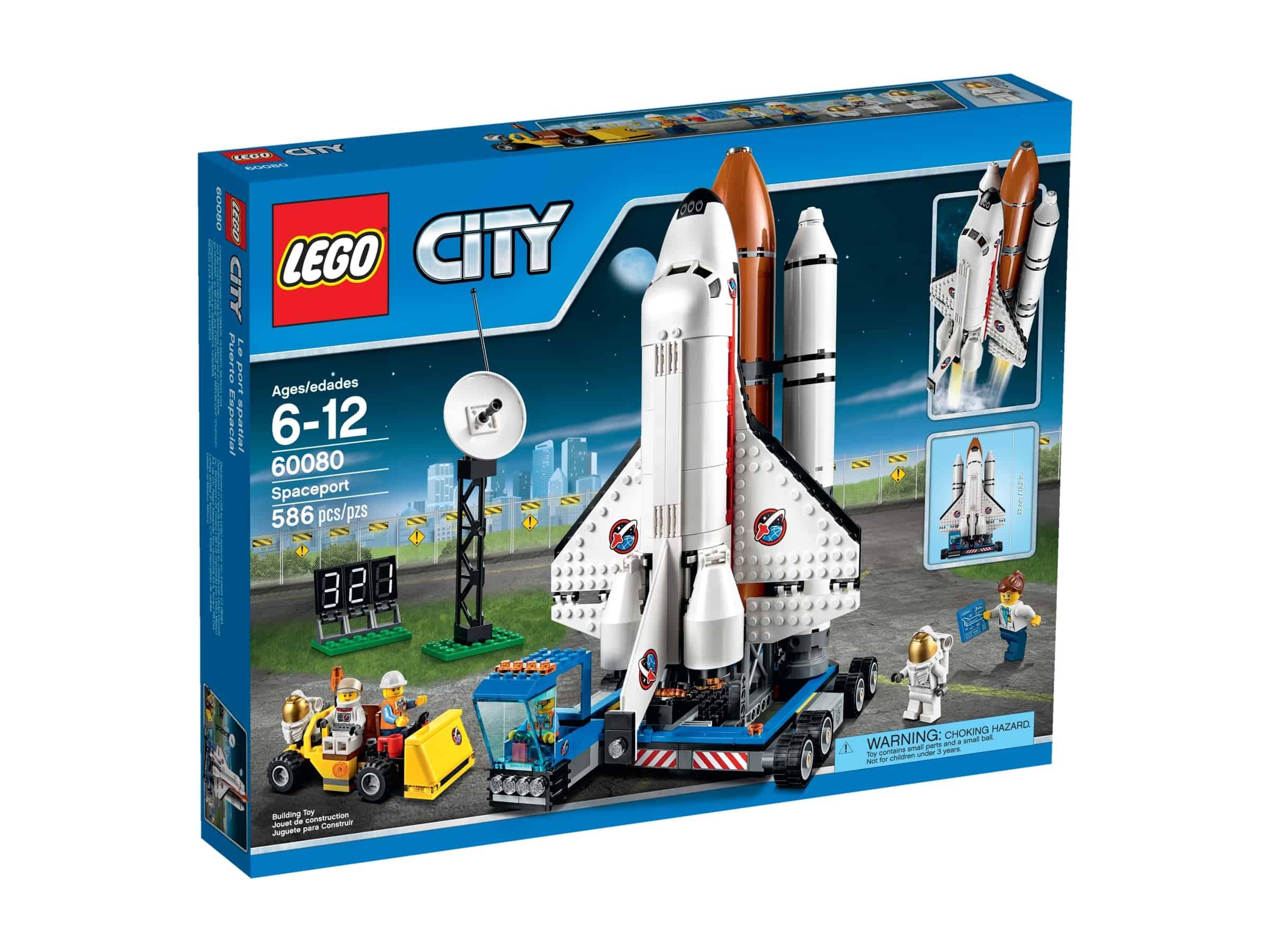 lego 60080 rakettbase