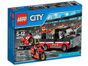 lego 60084 racingsykkel transporter
