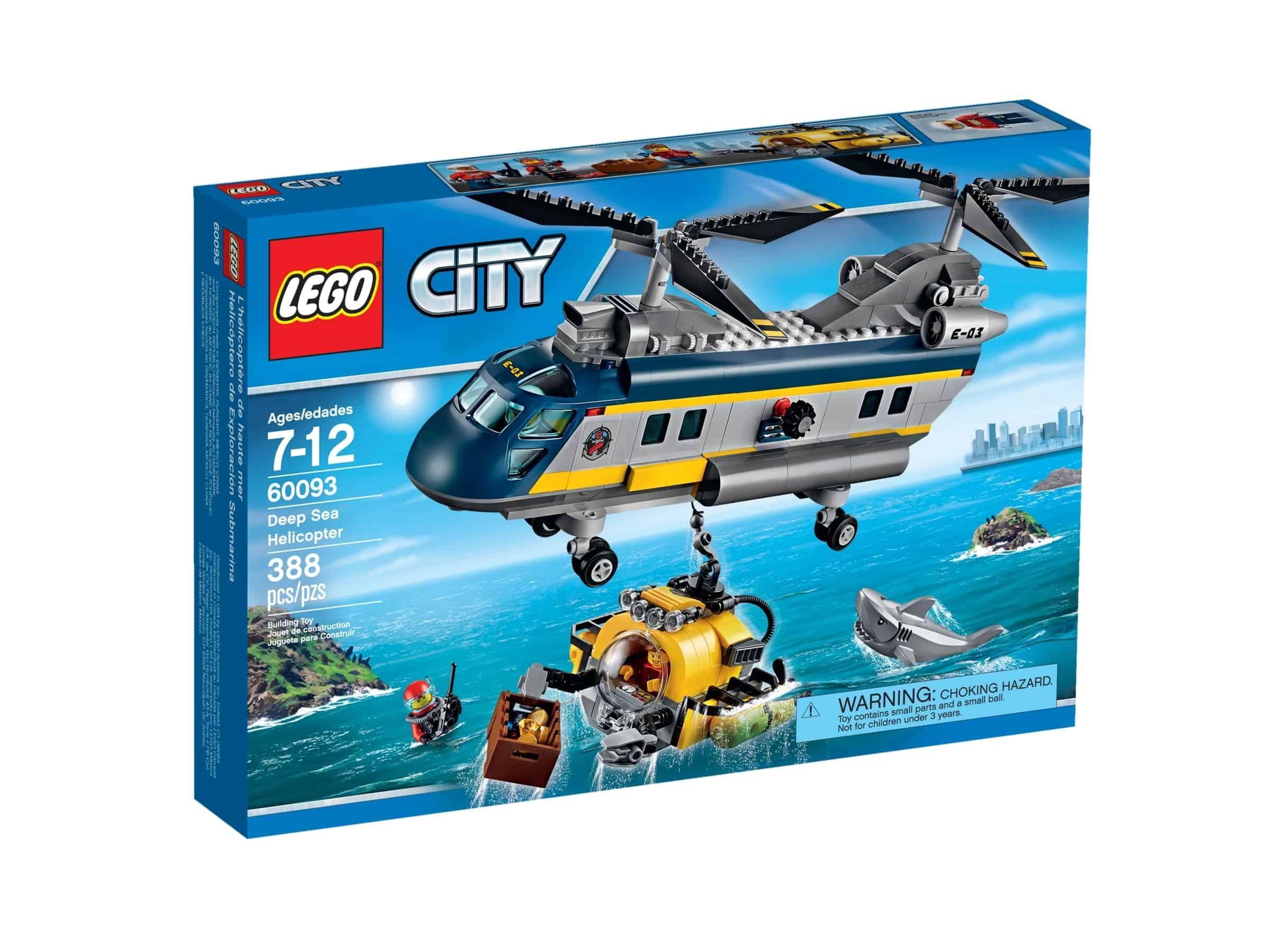 lego 60093 transporthelikopter med ubat