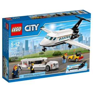 lego 60102 vip service pa flyplassen