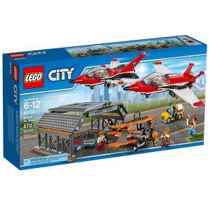 lego 60103 flyshow pa flyplassen