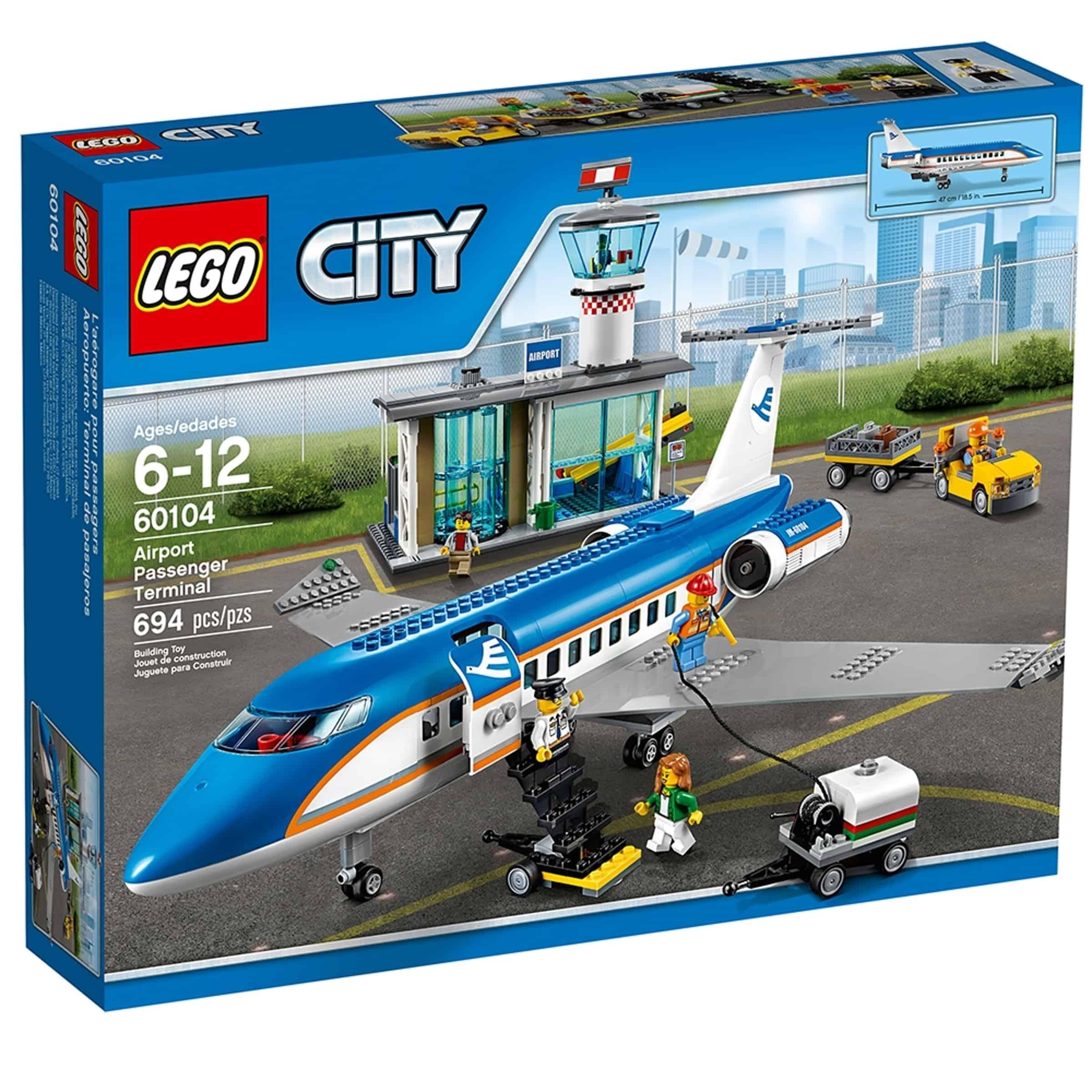 lego 60104 passasjerterminal pa flyplassen