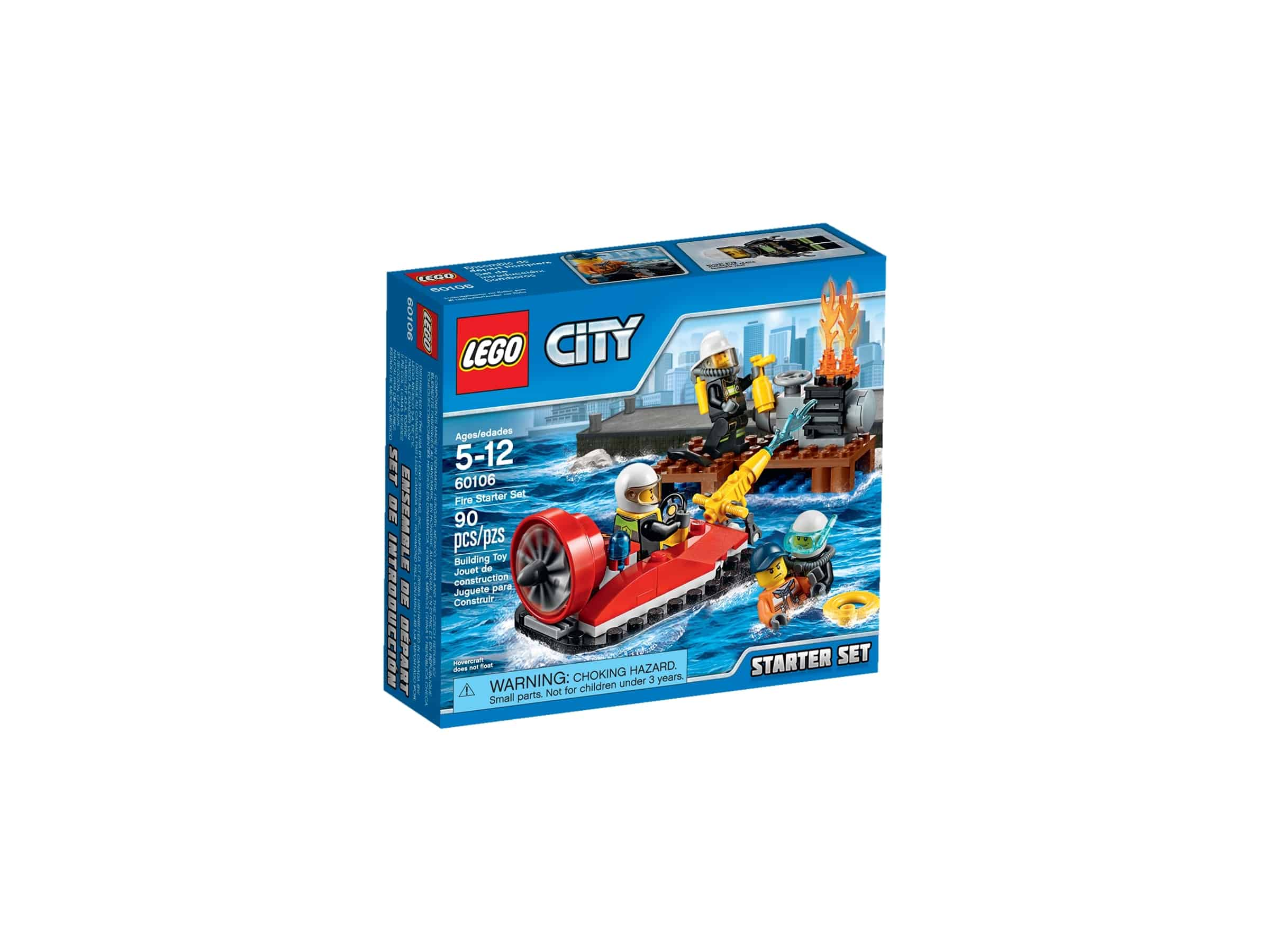 lego 60106 startsett for brannmannskap