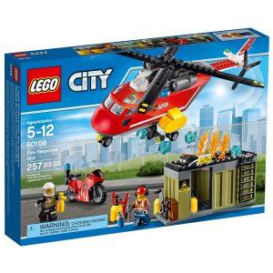 lego 60108 brannvesenets utrykningsenhet