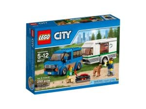 lego 60117 van og campingvogn