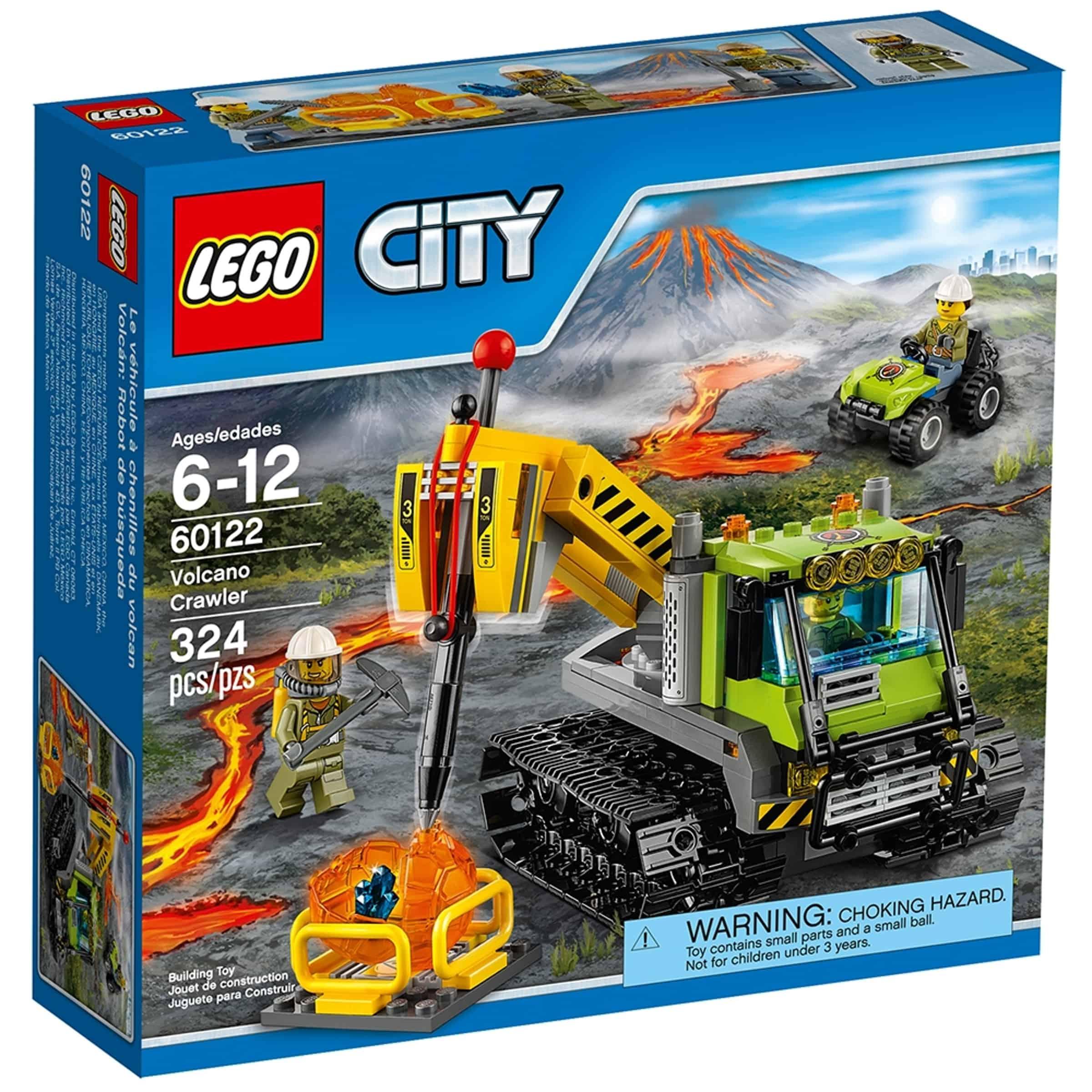 lego 60122 vulkanforskernes beltebil