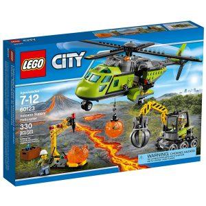 lego 60123 vulkanforskernes forsyningshelikopter