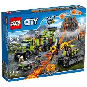 lego 60124 vulkanforskernes base