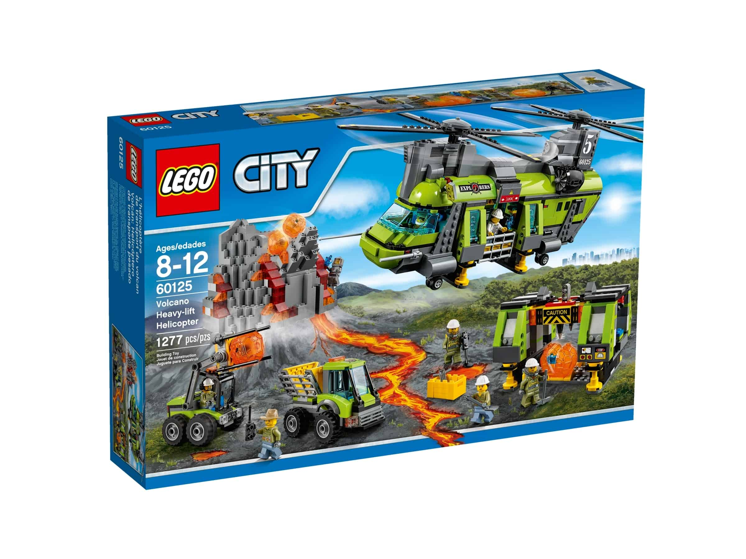 lego 60125 vulkanforskernes frakthelikopter