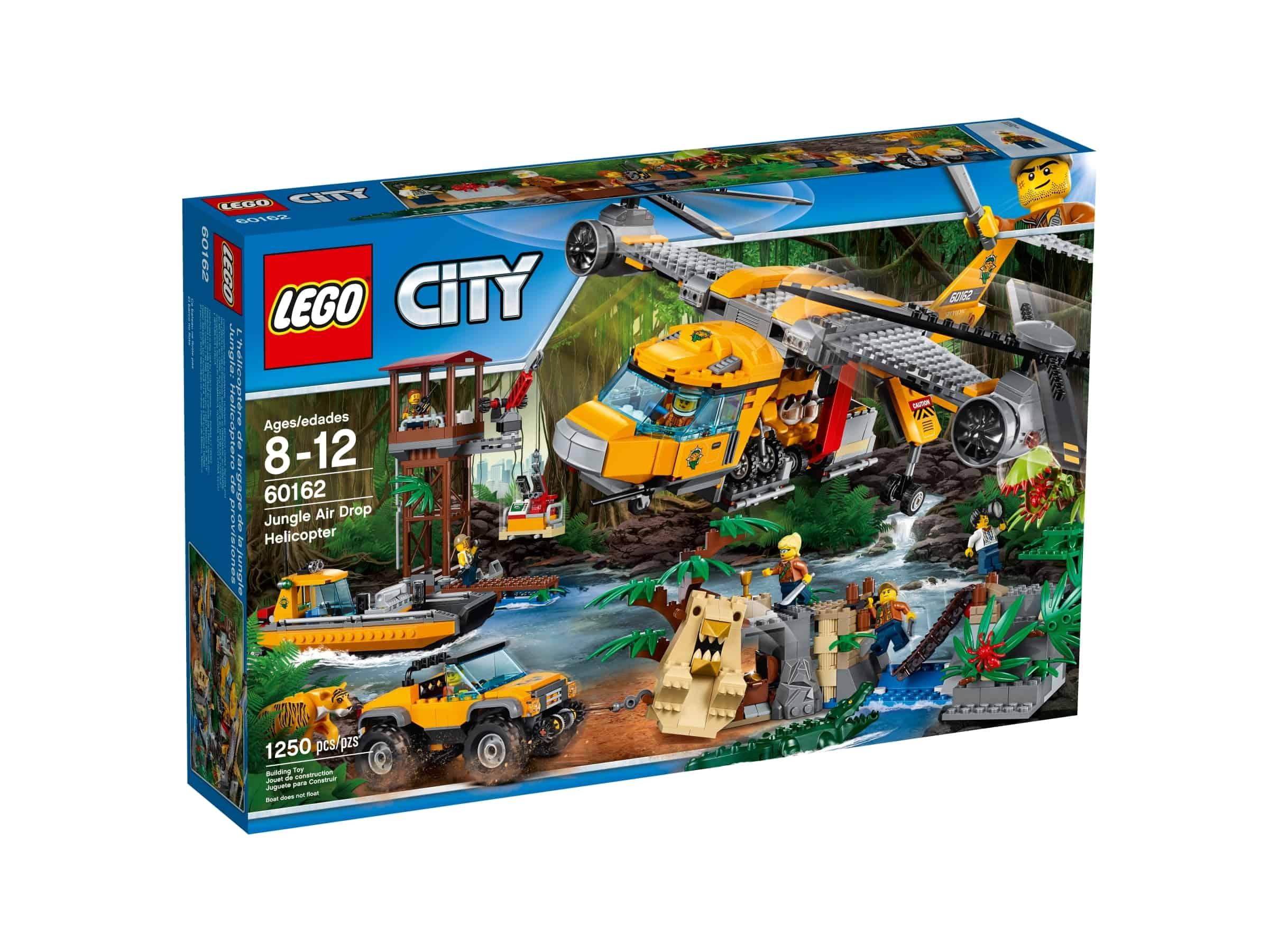 lego 60162 jungelsett helikopterslipp