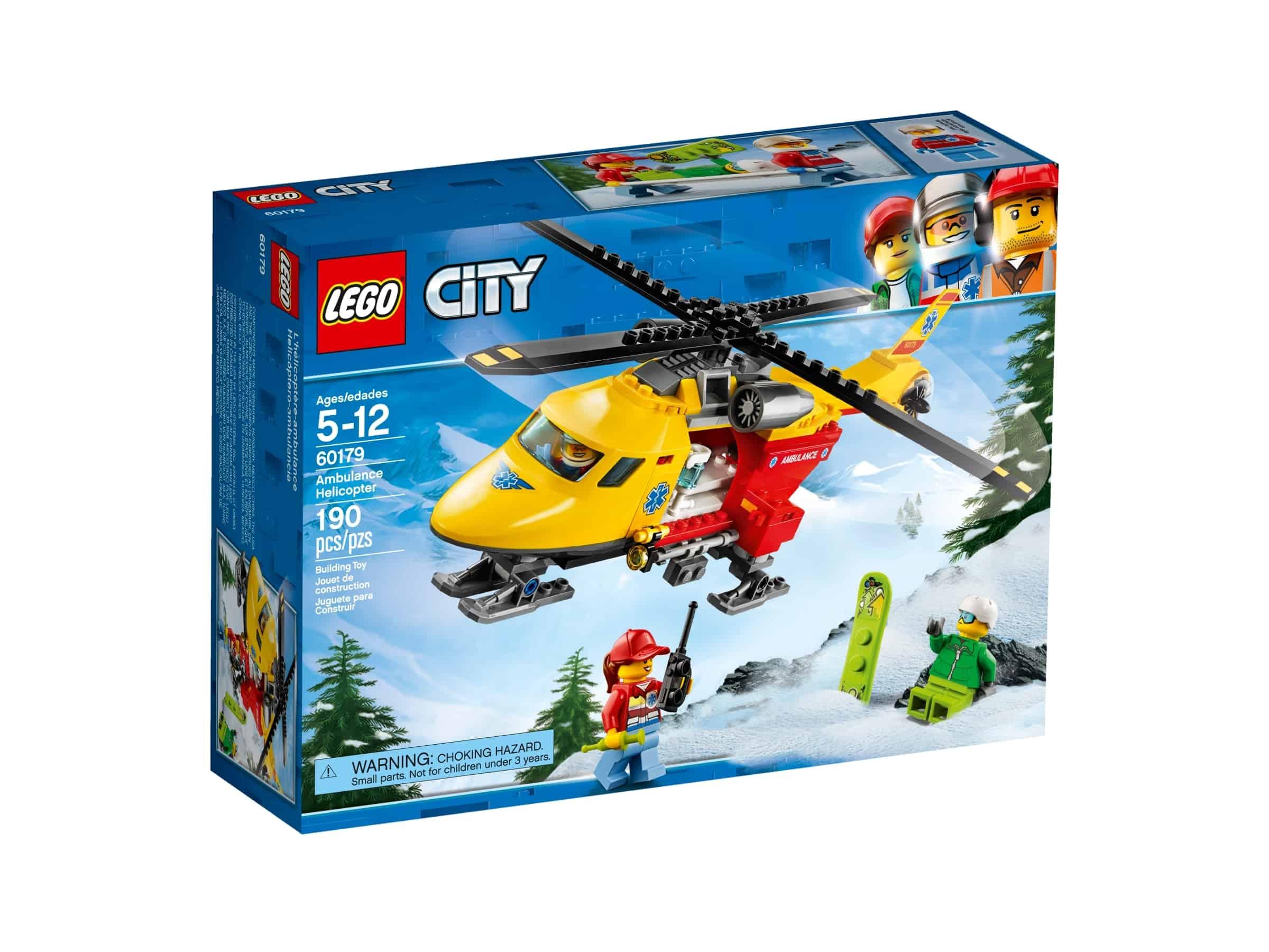 lego 60179 ambulansehelikopter