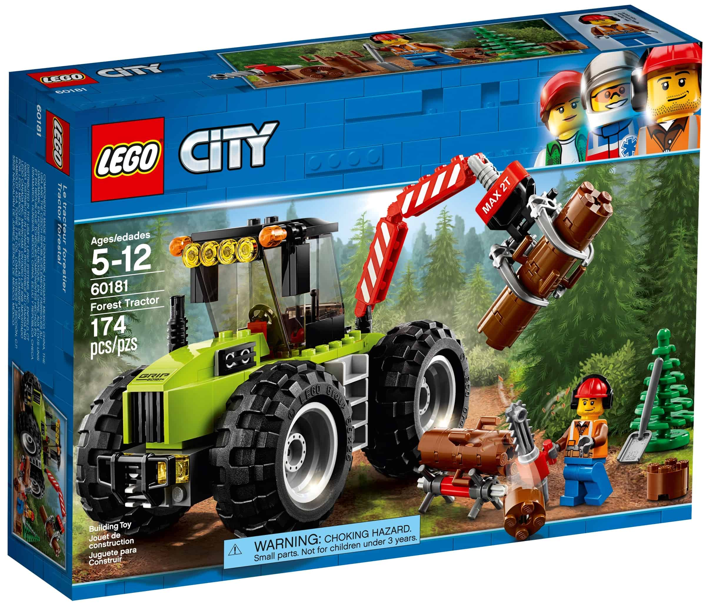lego 60181 skogstraktor
