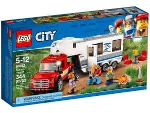 lego 60182 pickup med campingvogn