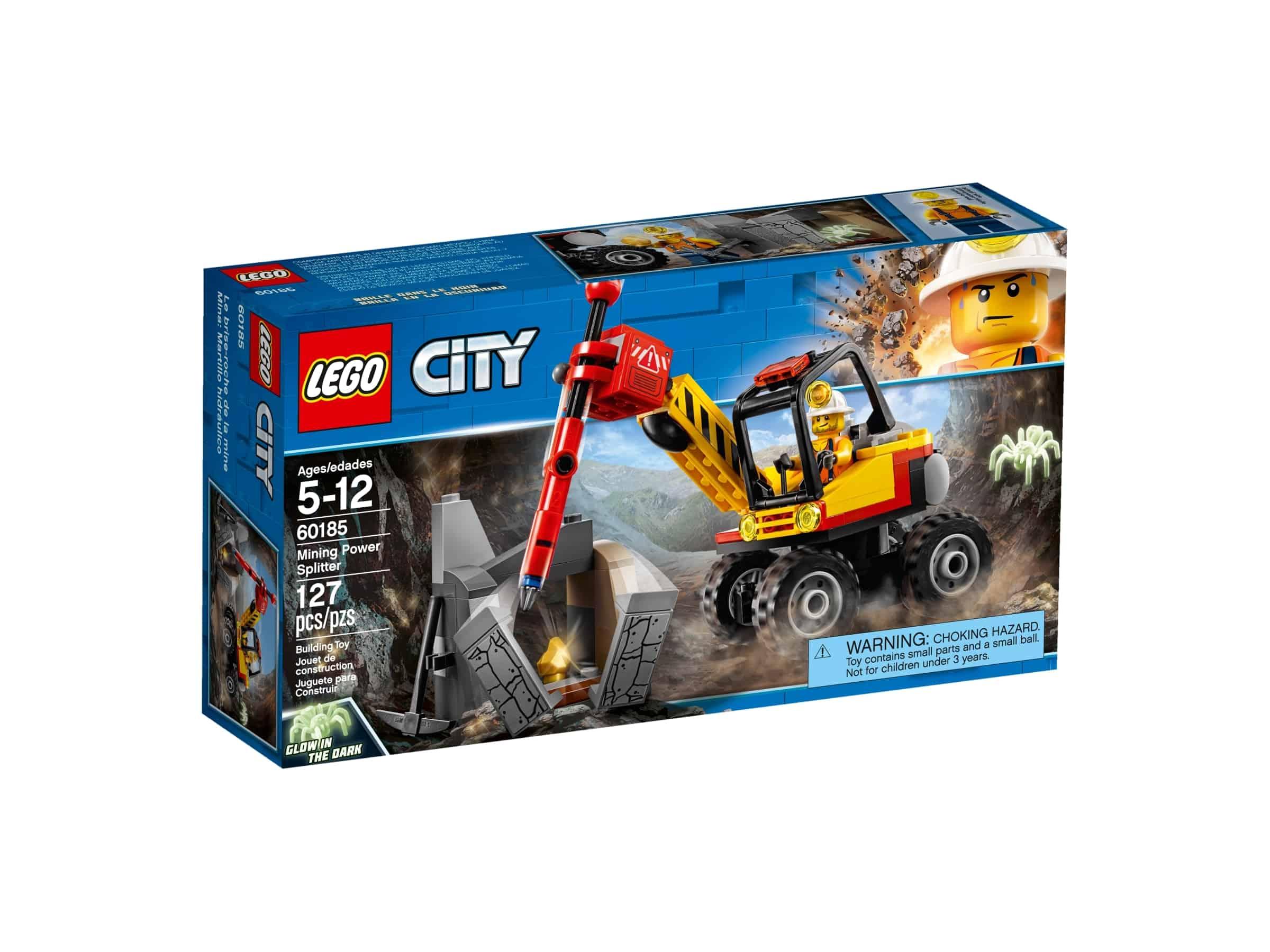 lego 60185 gruvekjoretoy med trykkluftbor