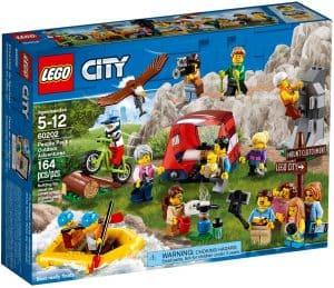 lego 60202 figurpakke utendorsaktiviteter