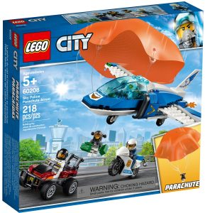 lego 60208 fallskjermarrestasjon