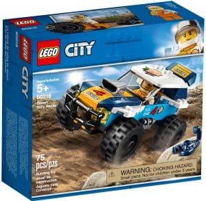 lego 60218 rallybil for orkenkjoring