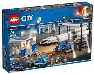 lego 60229 anlegg for rakettmontering og transport