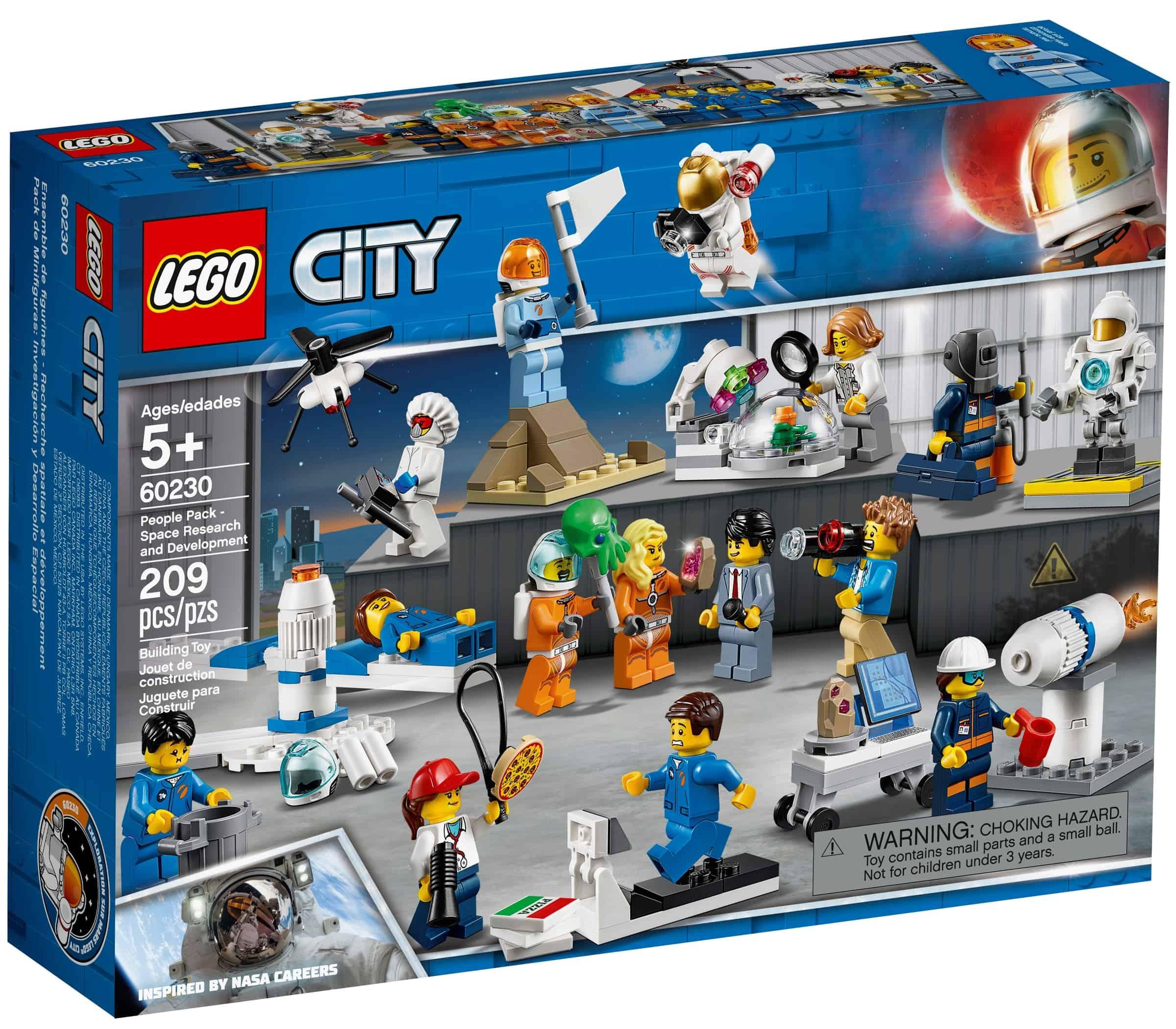 lego 60230 figurpakke romforskning