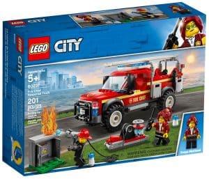 lego 60231 brannsjefens utrykningskjoretoy