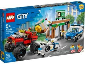 lego 60245 bankran med monstertruck