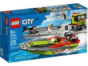 lego 60254 racerbat og trailer