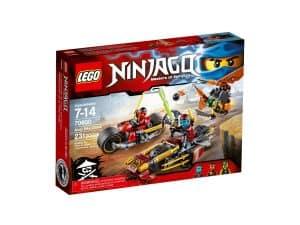 lego 70600 ninjajakt pa to hjul
