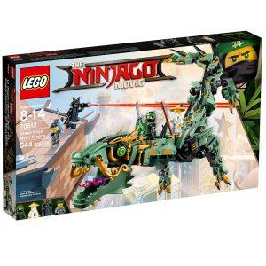 lego 70612 gronn ninjarobotdrage
