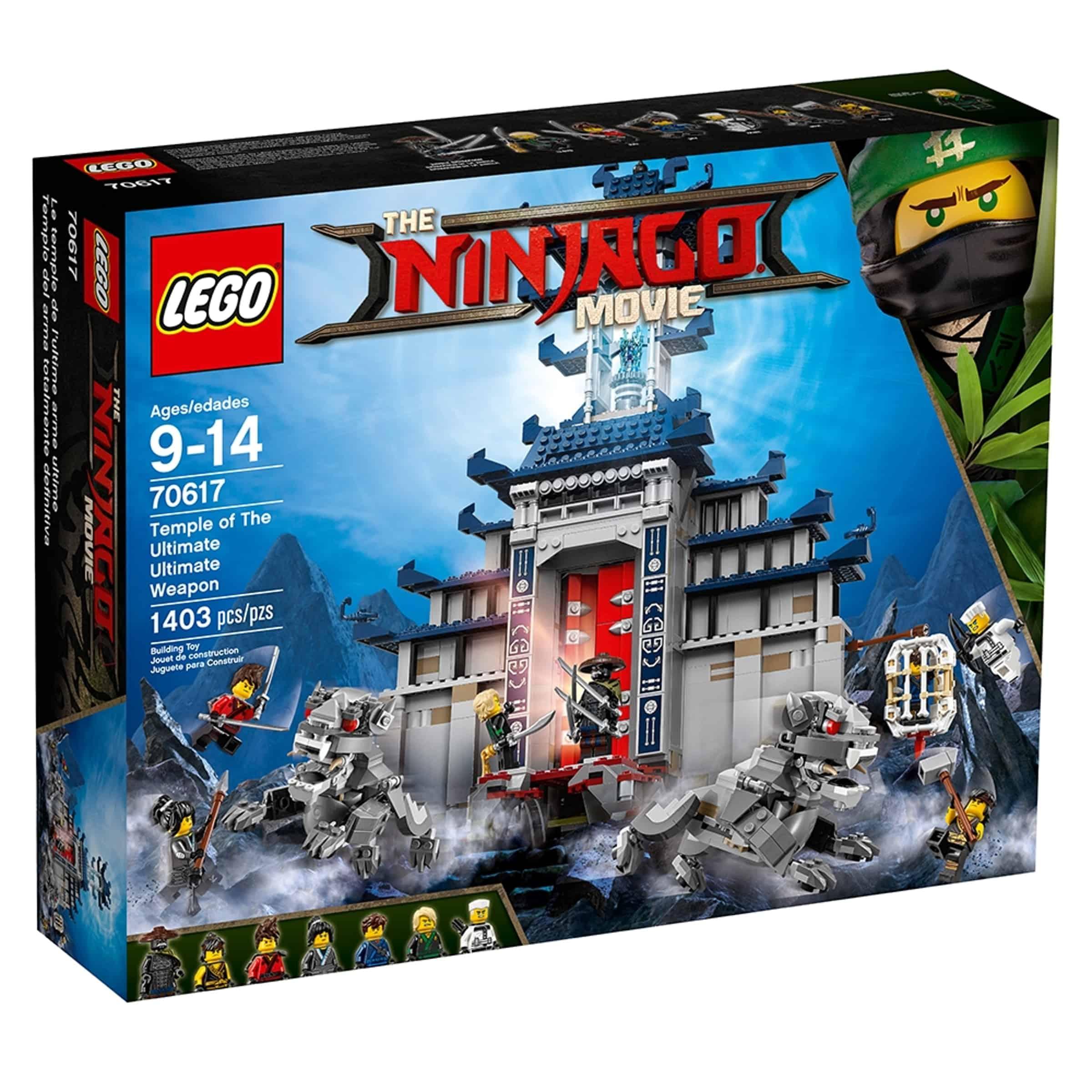 lego 70617 det ultimate ultimate vapens tempel