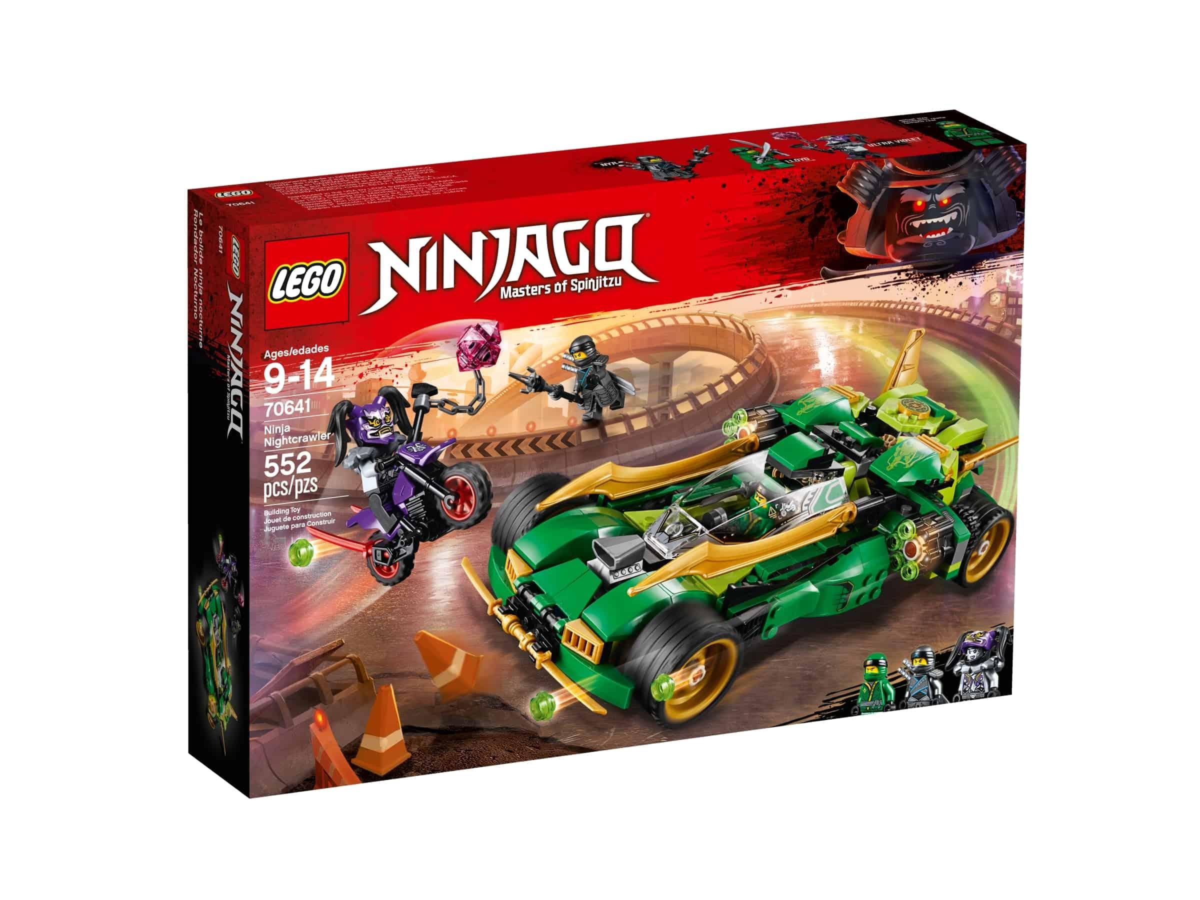 lego 70641 ninja nightcrawler