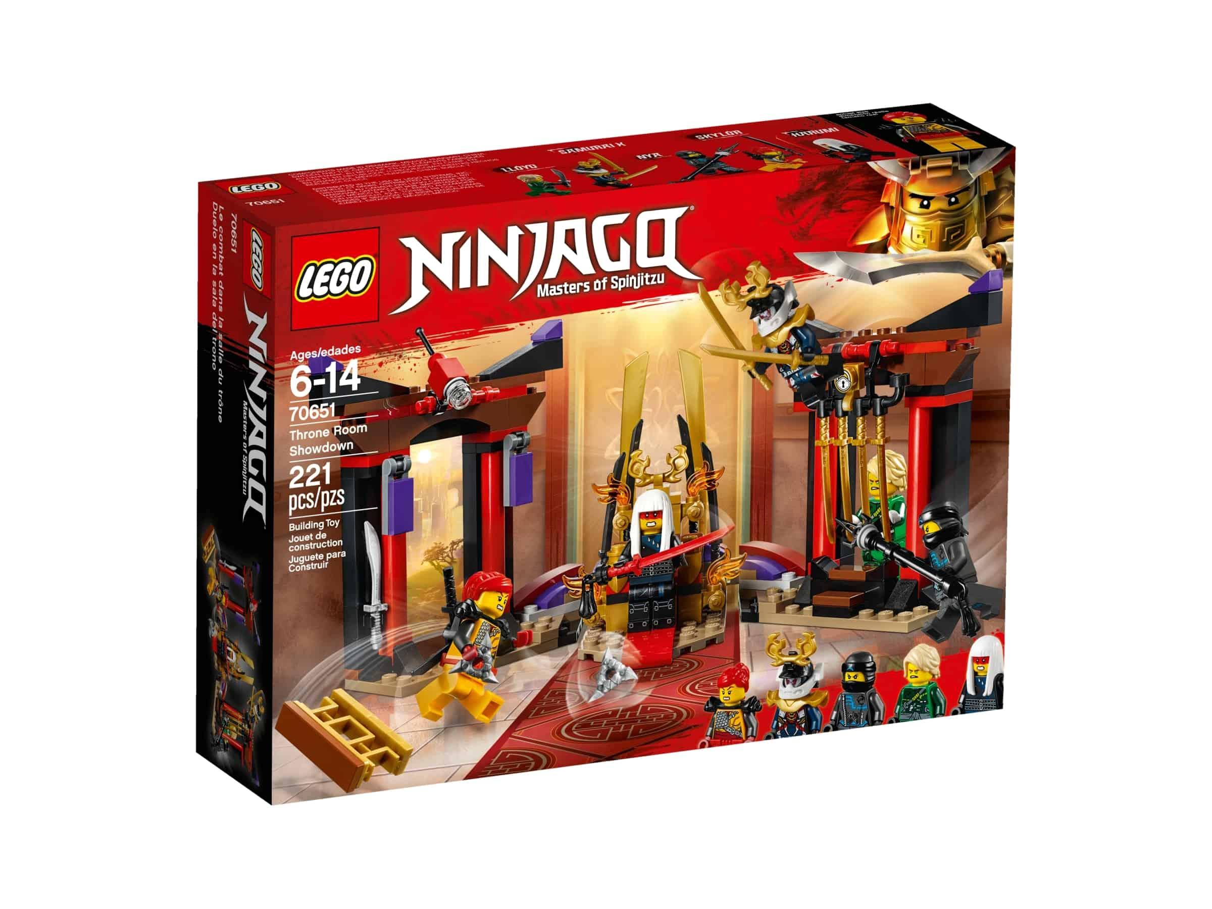 lego 70651 oppgjor i tronsalen