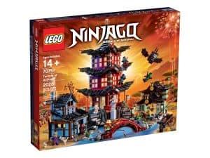 lego 70751 airjitzu tempelet