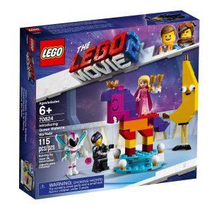 lego 70824 vi presenterer dronning harruset hapefull