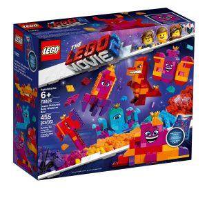lego 70825 dronning harruset hapefulls bygg hva som helst boks