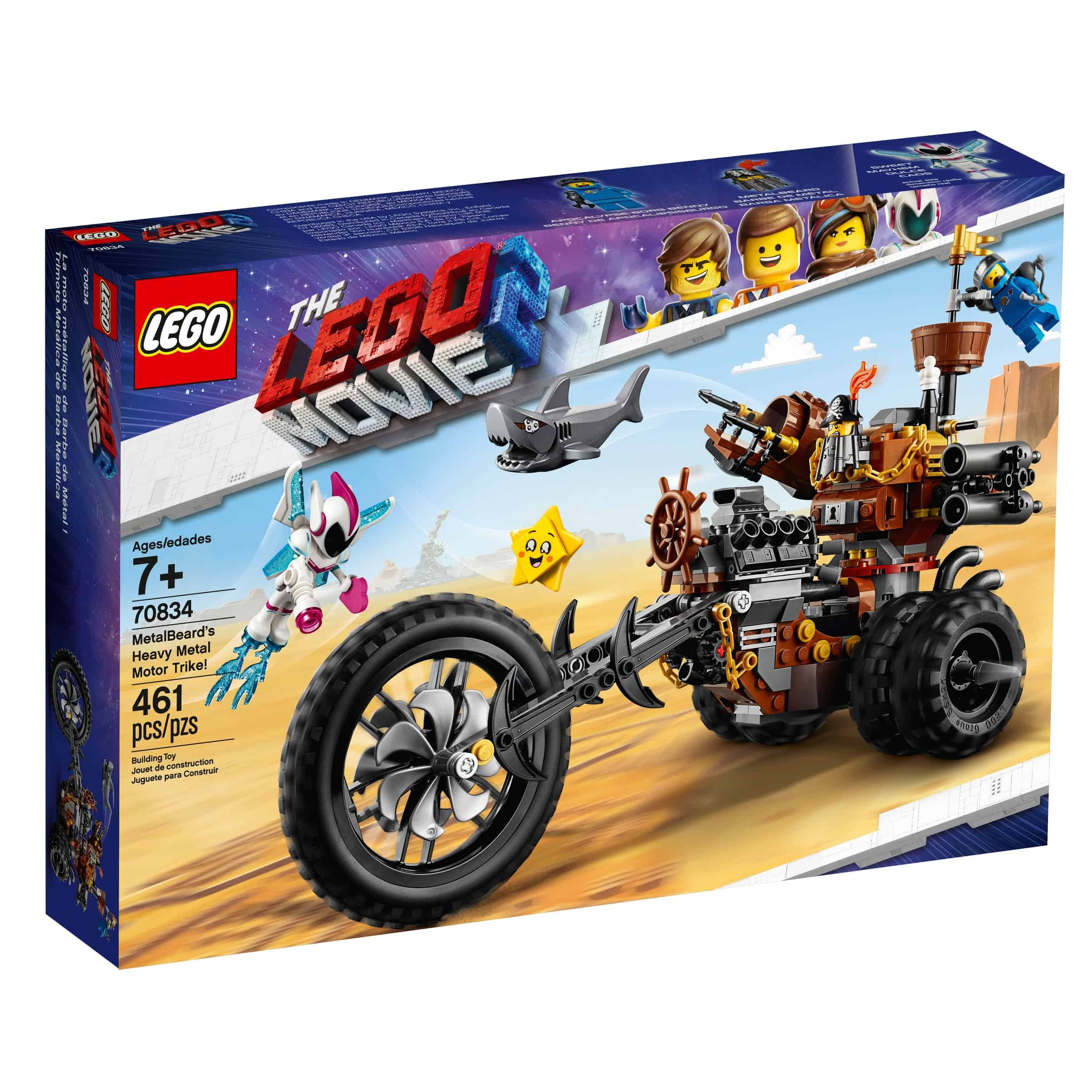 lego 70834 knivskjeggs metalltrehjuling