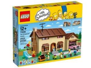 lego 71006 huset til the simpsons