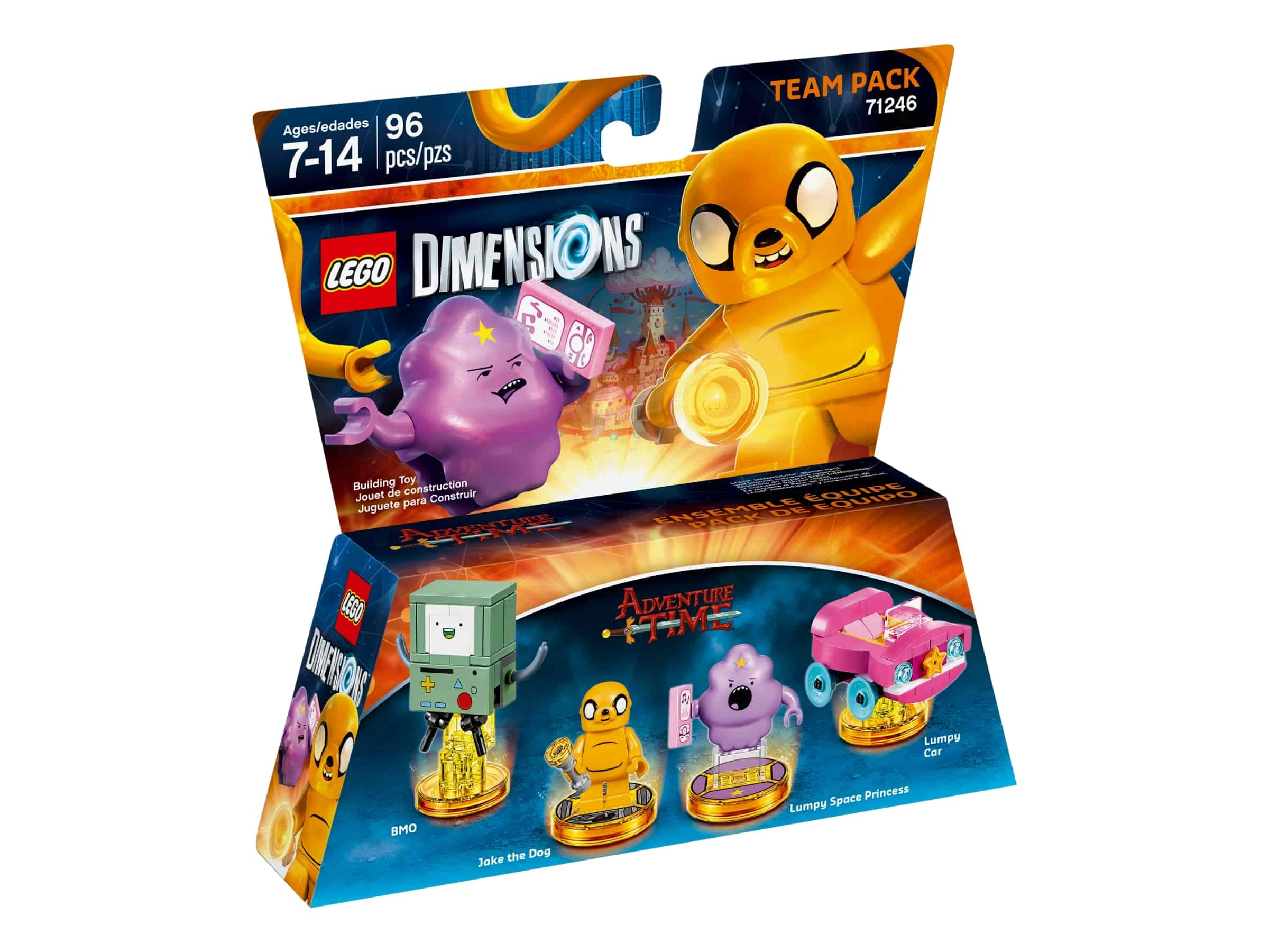 lego 71246 adventure time team pack