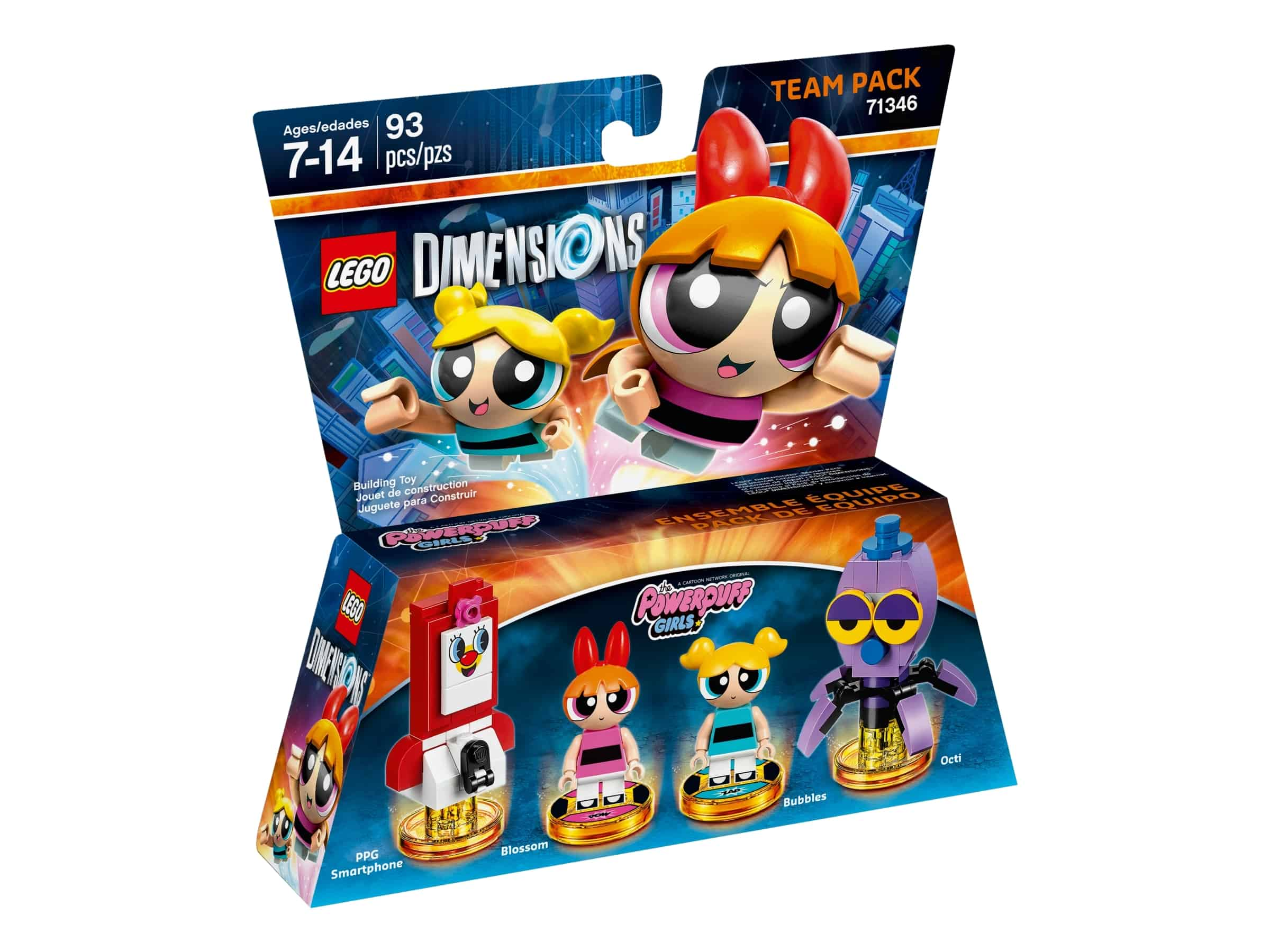 lego 71346 powerpuffjentene team pack