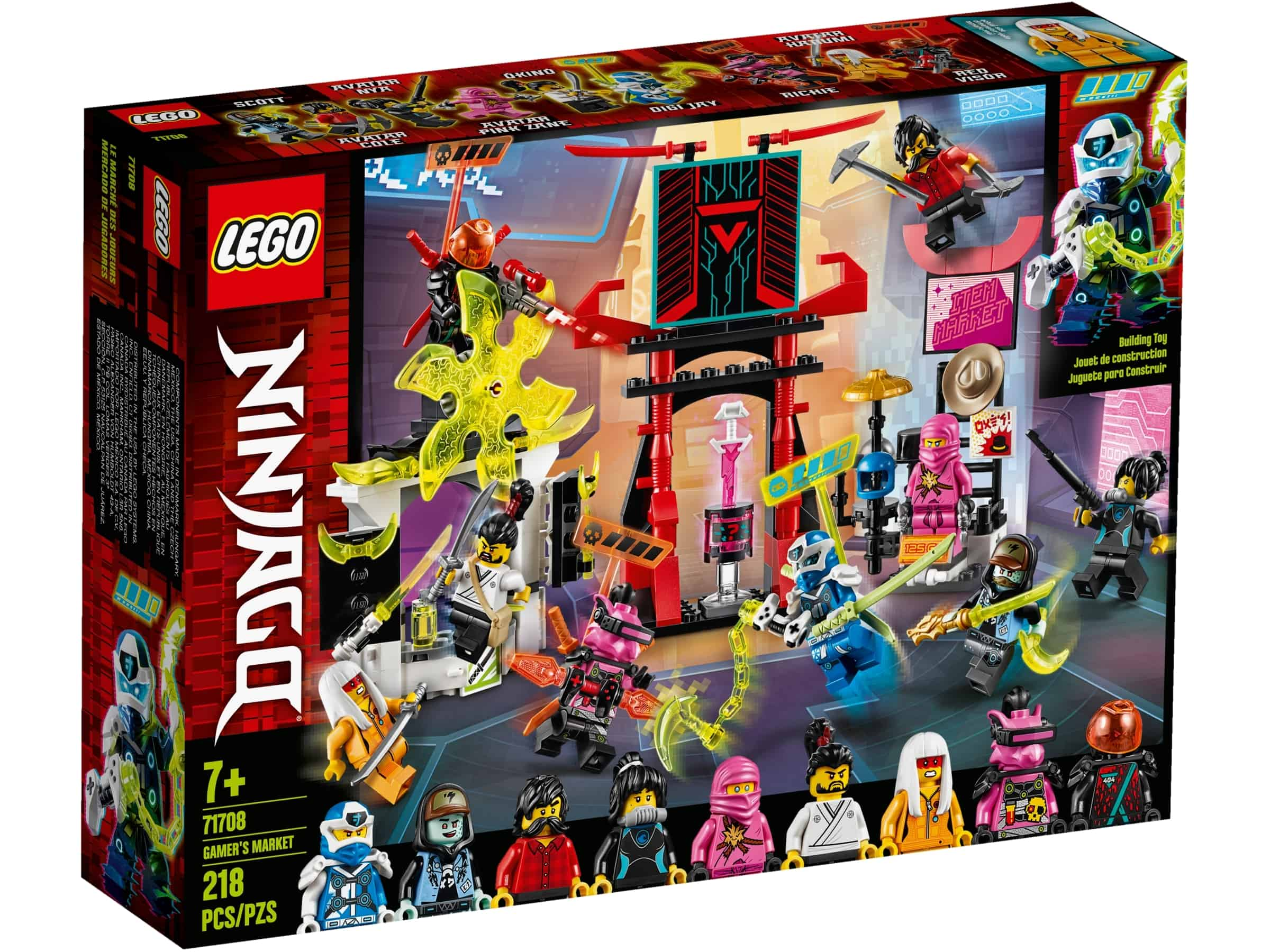 lego 71708 spillers marked