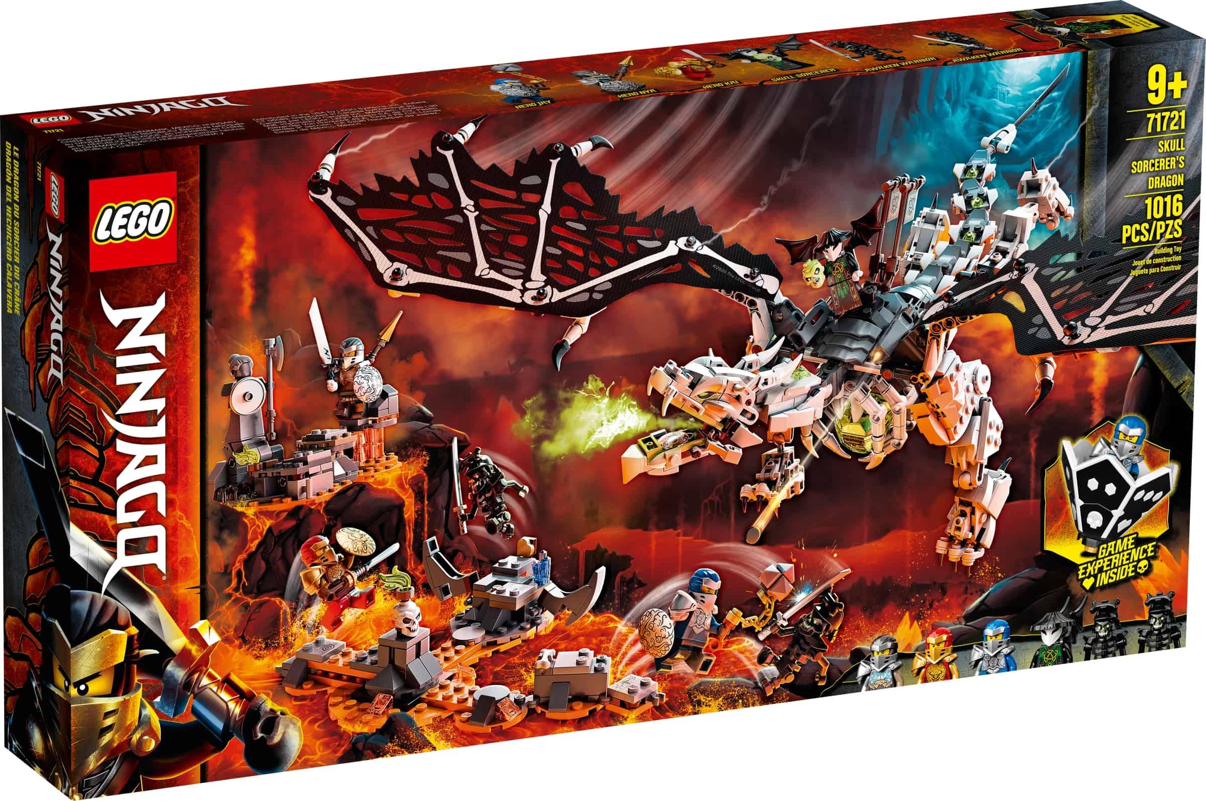 lego 71721 skalleheksemesterens drage