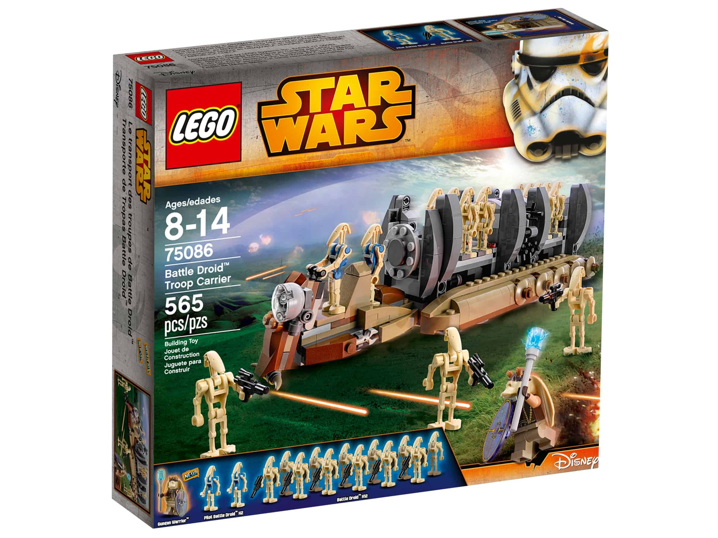 lego 75086 battle droid troppetransport