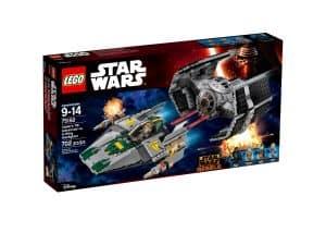 lego 75150 vaders tie advanced mot a wing starfighter
