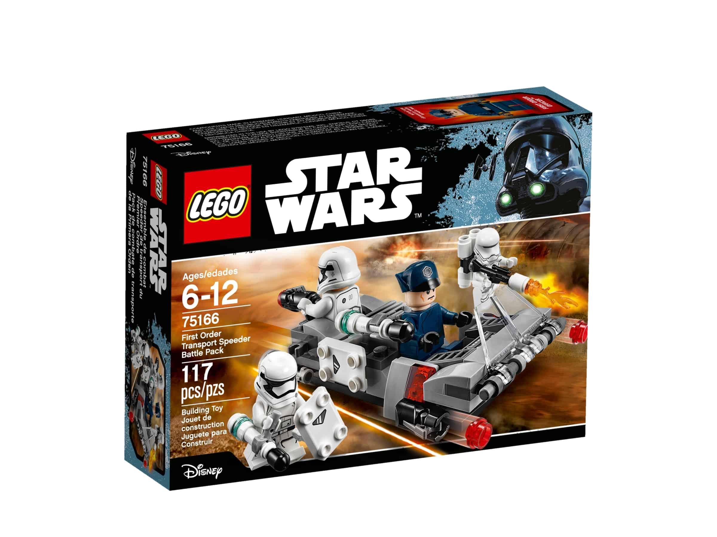lego 75166 first orders transportspeeder