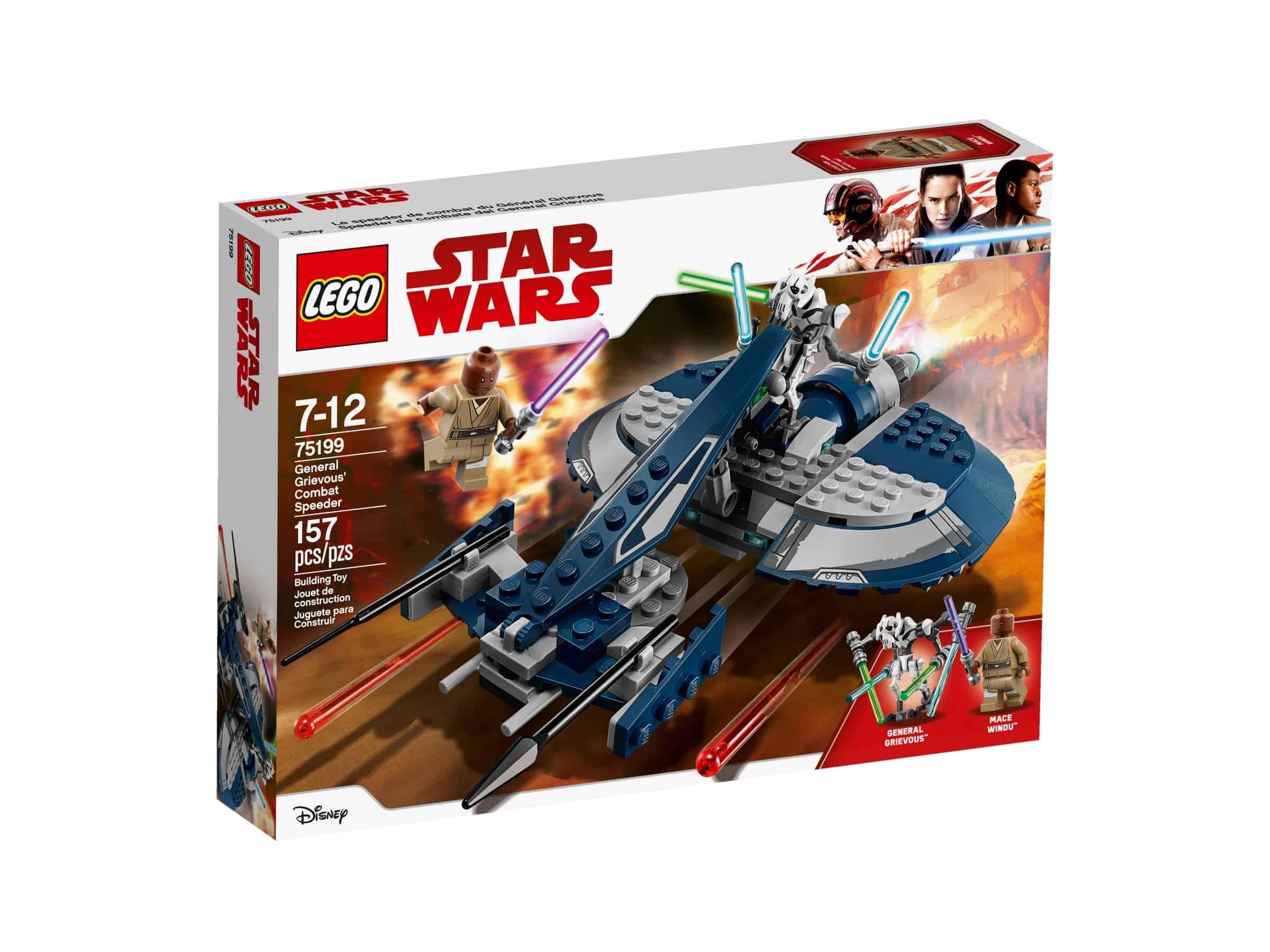 lego 75199 general grievous stridsspeeder