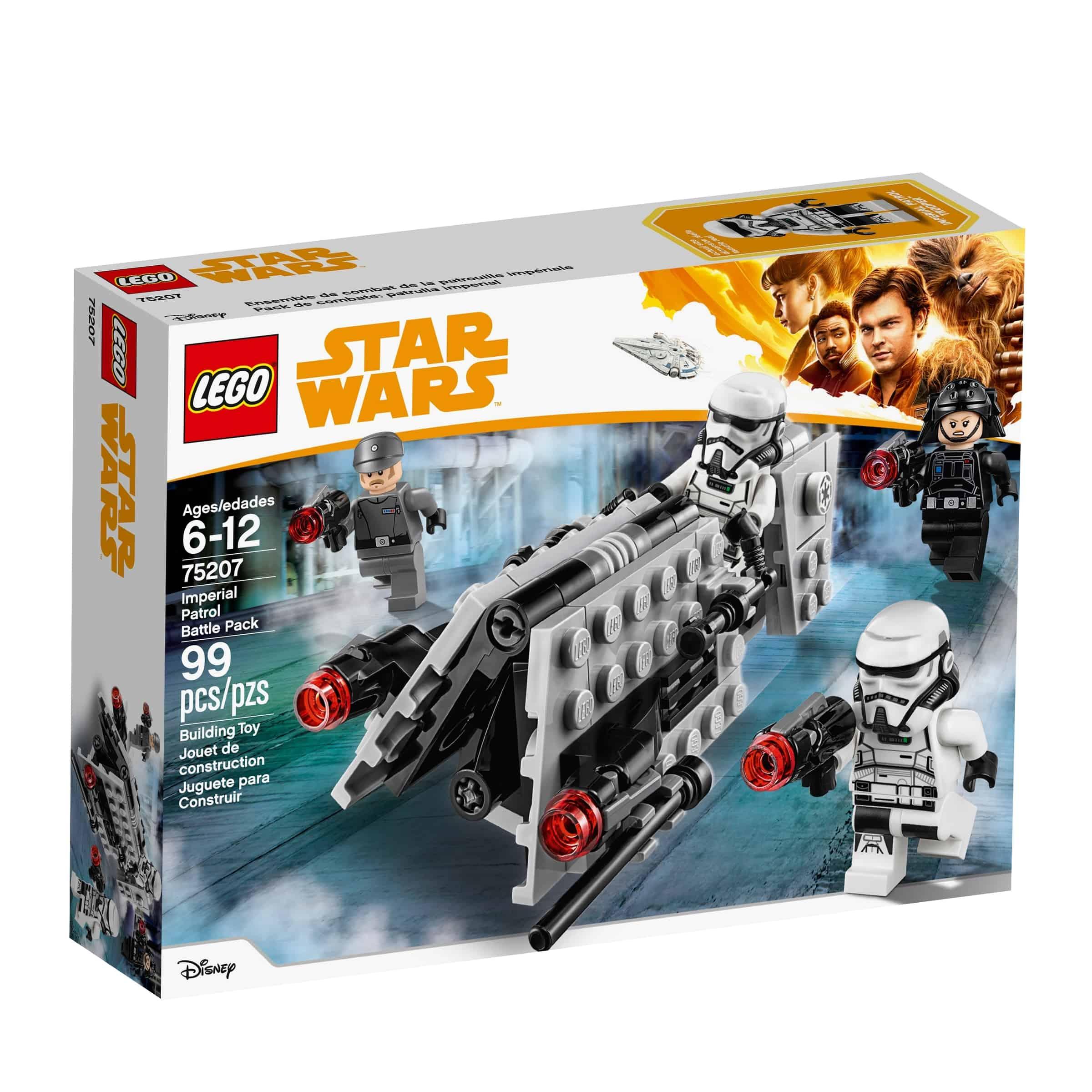 lego 75207 stridspakke med imperiets soldatpatrulje