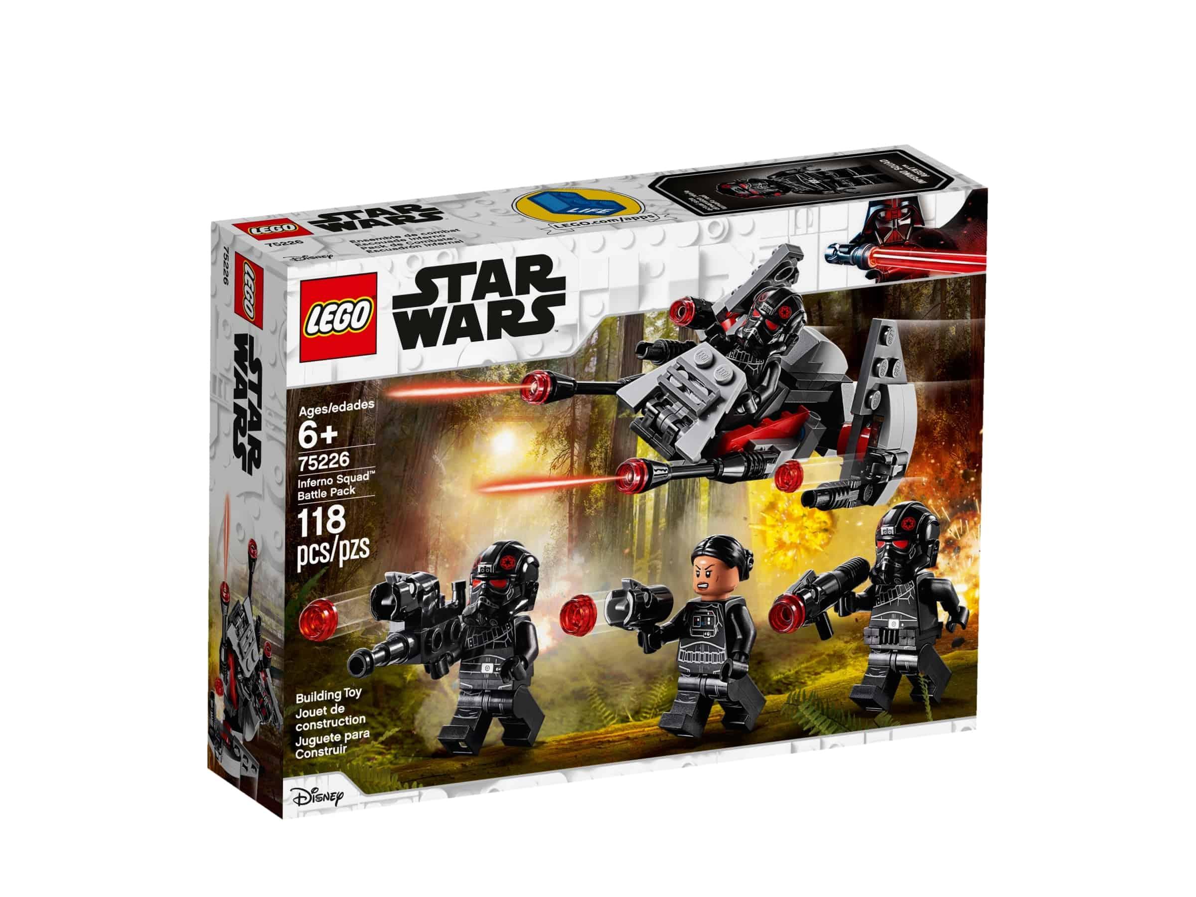 lego 75226 stridspakke med inferno squad