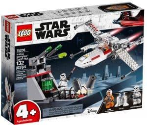 lego 75235 x wing starfighter i skyttergraven