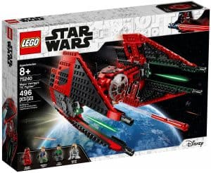lego 75240 major vonregs tie fighter